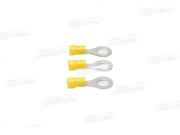 Kabelschuh 4,0x6,0 gelb
