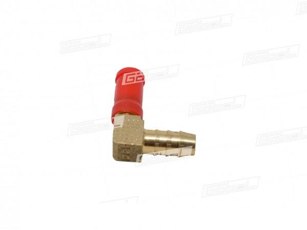 Winkel Stecker Typ 90° mit Rohranschluss