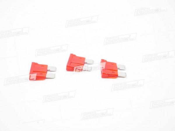 Flachstecksicherung rot 10 Ampere