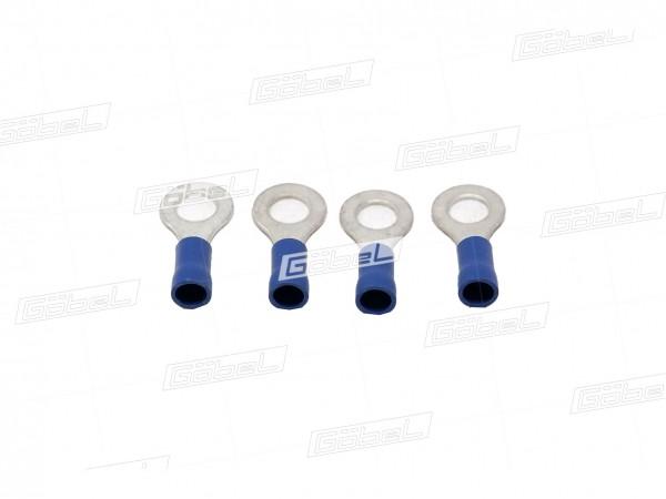 Kabelschuh blau f. Zapfen M 6