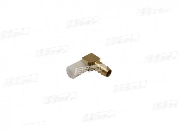Winkel Stecker 90° mit Rohranschluss