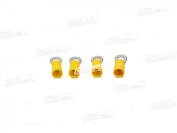 Kabelschuh 4,0-6,0 gelb