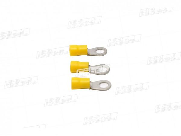 Kabelschuh gelb f. Zapfen M 8