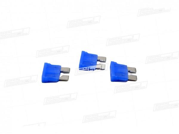 Flachstecksicherung 15 Ampere hellblau
